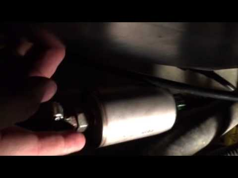 changing the fuel filter on a 2003 chevy cavalier when the. Black Bedroom Furniture Sets. Home Design Ideas