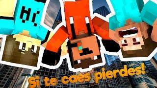 SI TE CAES PIERDES EXTREMO!! | MINECRAFT c/ Daarick y ANTONIcra