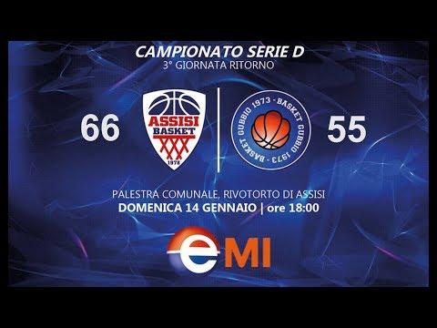 2018-01-14 Basket Serie D Assisi-Gubbio 66-55