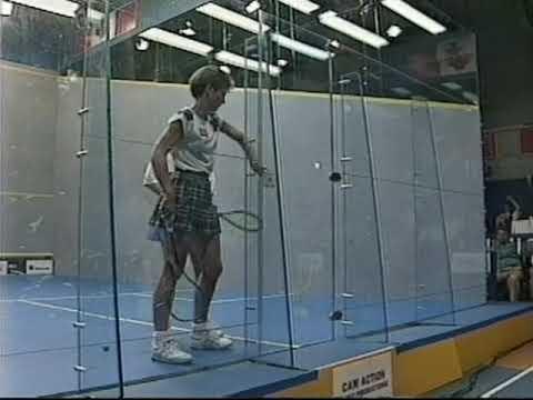 Susan Devoy  Michelle Martin  1992 Women's World Championship Part 2