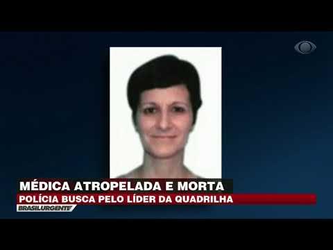 Polícia busca por líder de quadrilha que matou médica