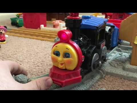 Fisher Price Mattel: Toots The Train 1999 Adult Reveiw