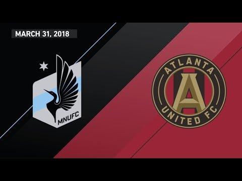 HIGHLIGHTS: Minnesota United FC vs. Atlanta United FC   March 31, 2018 thumbnail