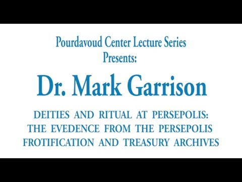 Thumbnail of Deities and Ritual at Persepolis: The Evidence from the Persepolis Fortification and Treasury Archives video