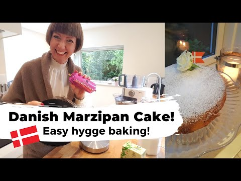 Danish Marzipan Cake - Mazarinkage