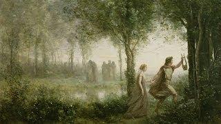 Corot - Orphée ramenant Eurydice des enfers thumbnail