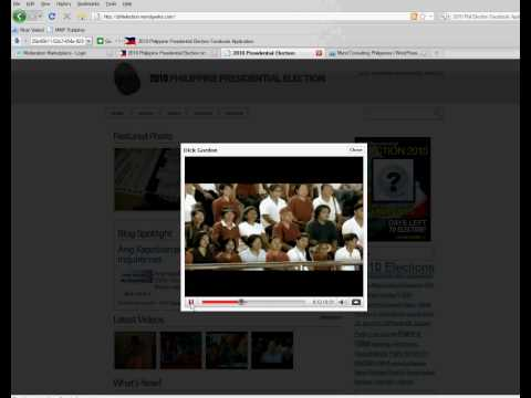 2010 Philippine Presidential Election Wordpress