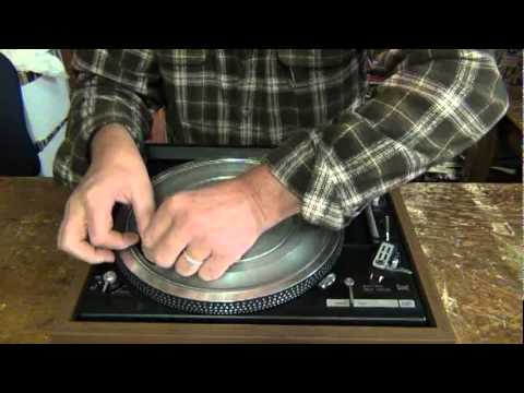 How To Replace The Belt On Your Turntable Youtube