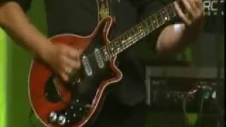 """Rick Wakeman & Brian May-Starship Trooper (""""Würm"""" final sequence by Steve Howe) live at the Starmus."""