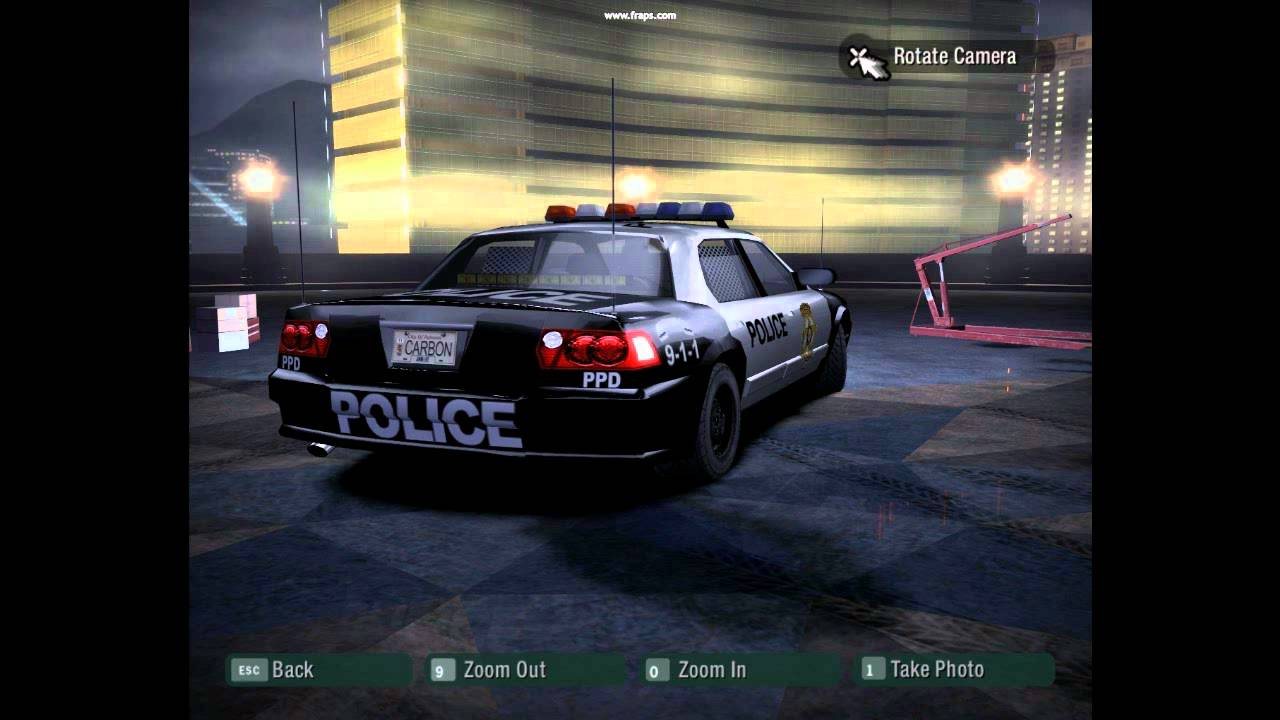 need for speed carbon level 1 police car ppd hd youtube. Black Bedroom Furniture Sets. Home Design Ideas