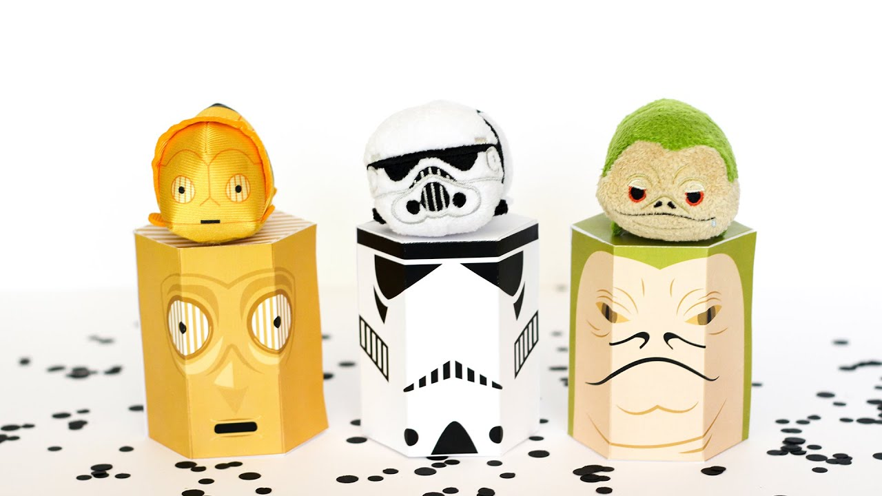 picture about Star Wars Free Printable identify Free of charge Star Wars Printable Reward Bins - Printable Crush