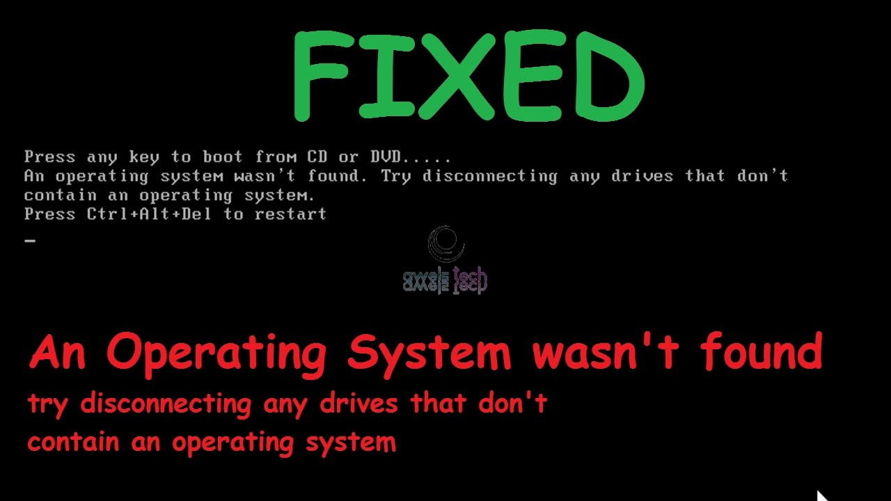 missing operating system windows 10 update