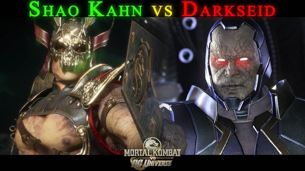 Download Shao Kahn vs Darkseid - Custom Intro - Mortal Kombat 11 - Injustice 2