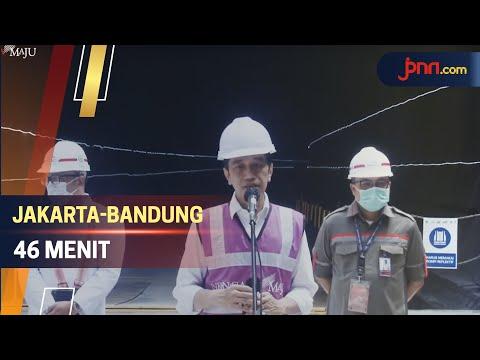 Progres Pembangunan Kereta Cepat Jakarta-Bandung Sudah 73 Persen
