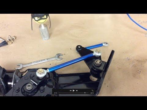 RX7 Head light rod fix