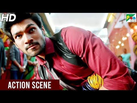 Bellamkonda Srinivas - Fight Scene | Mahaabali (Alludu Seenu) Hindi Dubbed Movie | Samantha