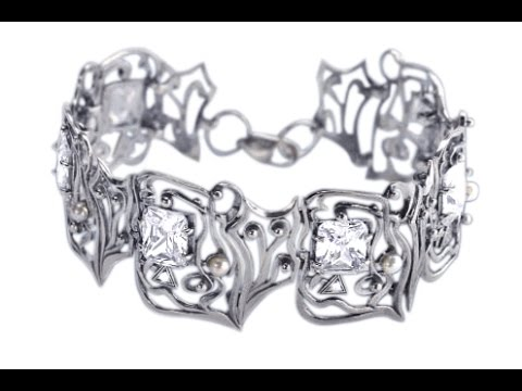 Серебряный Браслет на руку - 2019 / Silver Bracelet On His Hand