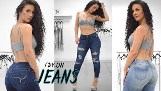 4 Jeans Try on with Viktoria Kay   NEW!