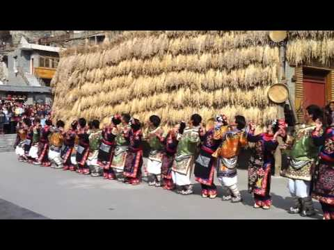 Chinese Qiang People Dance - 01