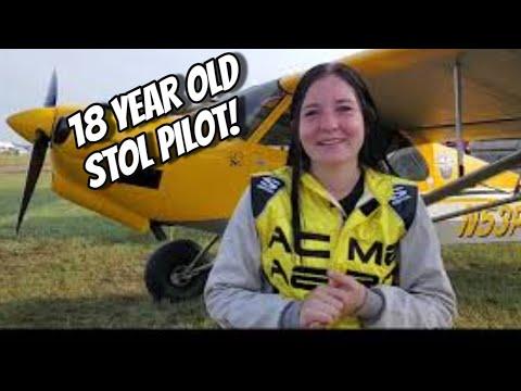 18 Year Old STOL Competition Pilot Jaden Newman Sun N Fun 2021