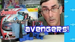 Avengers Age Of Ultron Hq Toy Tower Defense!
