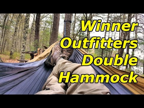 Double Camping Hammock by WINNER OUTFITTERS: Full Product Review