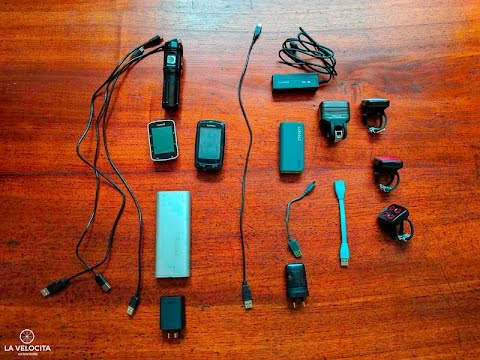 Bikepacking without a dynamo - battery, power, lights and gadgets for Indian Pacific Wheel Race