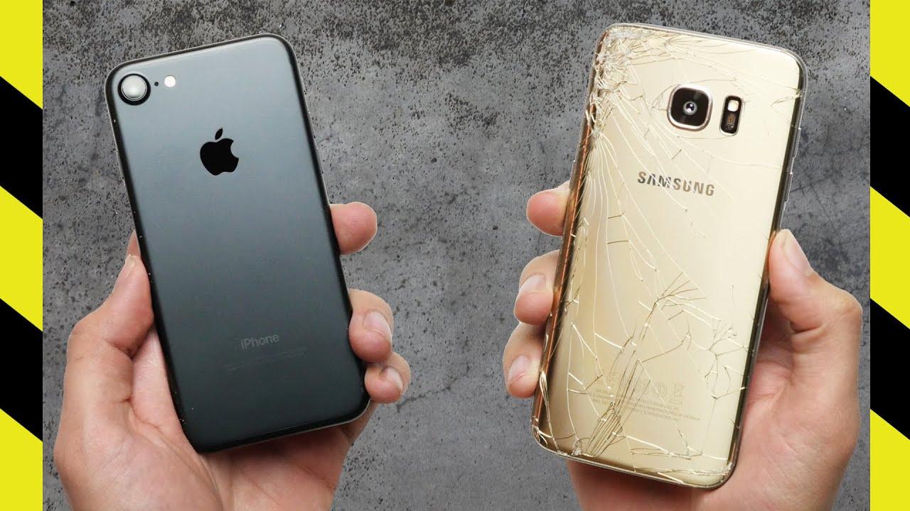 iphone 7 vs galaxy s7 edge