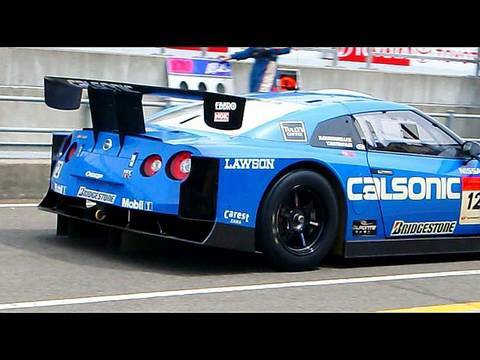 CALSONIC IMPUL GT-R - high speed cornering - YouTube