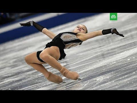 Трусова Александра.Выдающийся рекорд и триумф юной фигуристки!Чарующее исполнение.