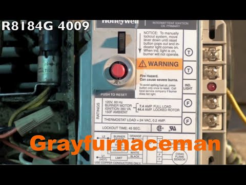 How to wire the oil furnace cad cell relay - YouTube Oil Burner Wire Harness on