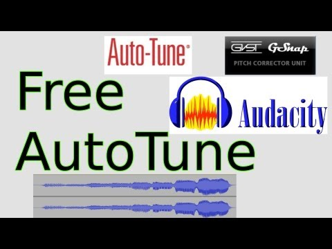 Free AutoTune for Audacity (GSnap)