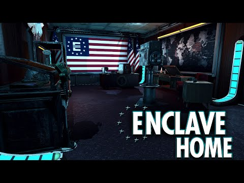 Fallout 4 Mods - Atlas Summit - Best Enclave Player Home (XBOX & PC)