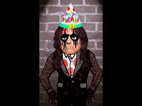 ALICE COOPER is turning 70th .. be on his special b-day video contest!