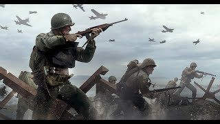 Call of Duty  WWII - Misión uno (Normandia DIA D) Audio Latino