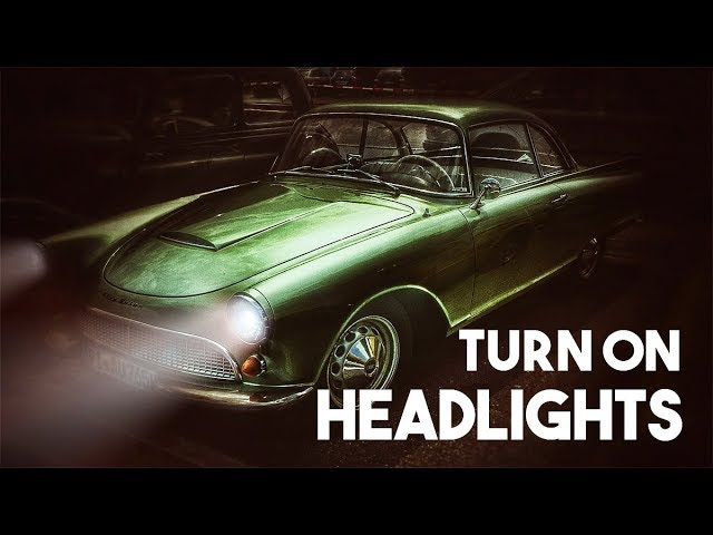 How to Turn on Headlights in Photoshop