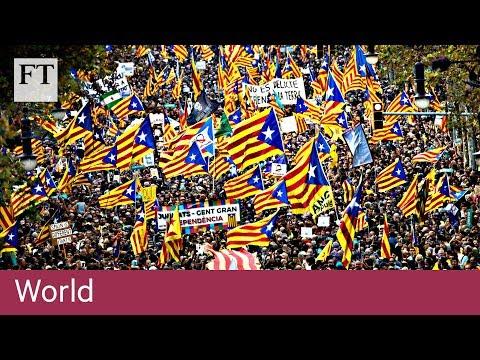 Catalan parliament declares independence
