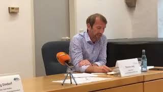 #Pressekonferenz zur Entschärfung einer #Weltkriegsbombe in der #Nahe in #Kirn