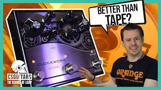 Delay Pedal to RIVAL Tape | J Rockett Audio Designs Clockwork Echo