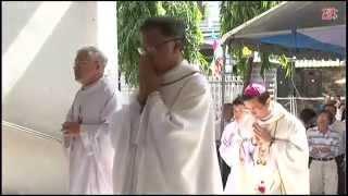 VIDEO Giáo xứ Trung Bắc: Lễ làm phép đất xây dựng Nhà Giáo lý