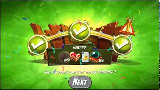 Beat The Daily Challenge King Pig Panic Completed in Angry Birds 2 SATUDAY (2)
