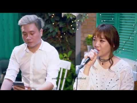 Hari Won - Anh Cứ Đi Đi (Live - Korean Version) ft. Vương Anh Tú