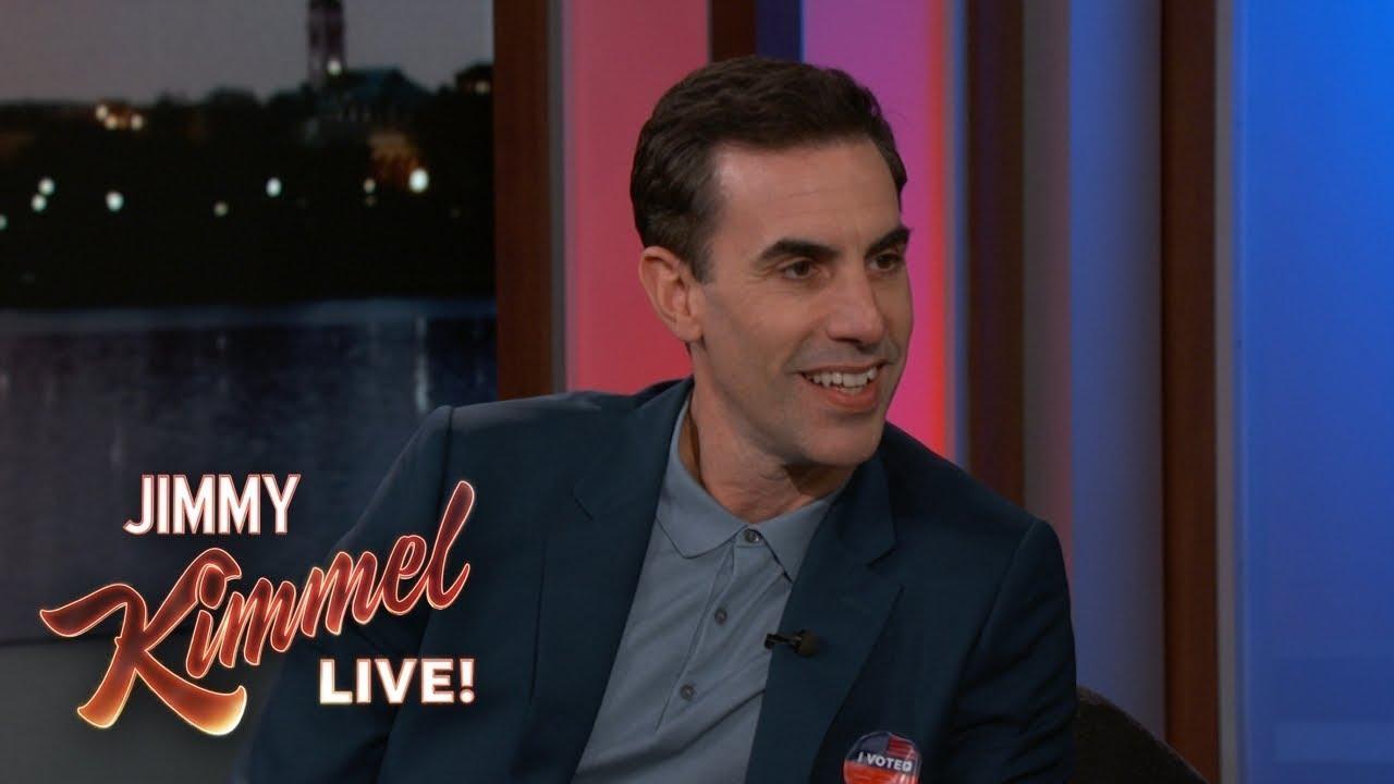Sacha Baron Cohen Returns as Borat to Celebrate Election Day