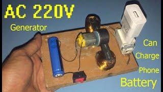 220V AC jeneratör , olabilir telefon şarj