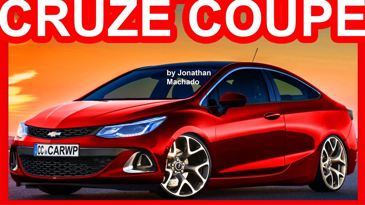 Novo Ford Focus 2018 >> PHOTOSHOP 2018 Chevrolet Cruze Coupe #Cruze - YouTube