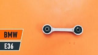 Cómo cambiar los bieletas de suspensión parte trasera en BMW E36 [VÍDEO TUTORIAL DE AUTODOC]