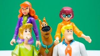 Scooby Doo Mystery Solving Crew Toy Unboxing