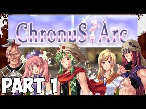 Chronus Arc - Walkthrough Part 1 - Sorcerer Knight