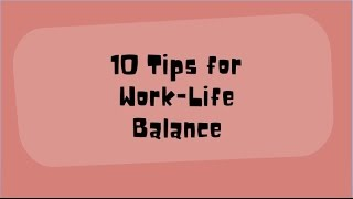 There are a plethora of definitions for work-life balance and whether or not it's achievable. we define as finding happy medium between y...