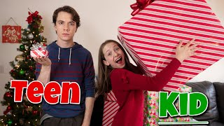 Christmas as a Kid VS Teen **Funny Christmas**